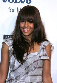 Marsha Thomason at the BAFTA / LAs Awards season tea party.