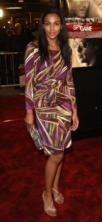 Marsha Thomason at the premiere of
