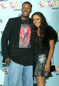 Flex Alexander and Shanice Wilson at the 2005 BET Awards.