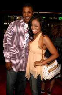 Flex Alexander and Shanice Wilson at the premiere of