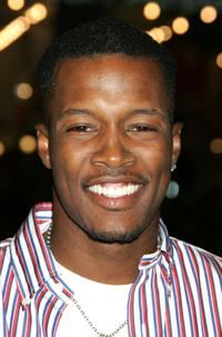 Flex Alexander at the premiere of