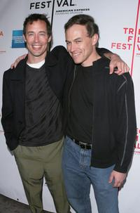 Tom Cavanagh and Director Evan Oppenheimer at the screening of