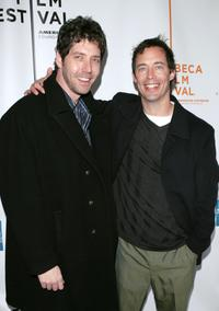 James Barbour and Tom Cavanagh at the screening of