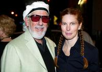 Page Hannah and her husband Lou Adler at the Painted Turtle Camp Bingo Benefit.