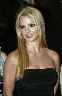Britney Spears at the launch of Pepsi's new TV commecial in London.