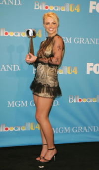Britney Spears at the 2004 Billboard Music Awards in Las Vegas.