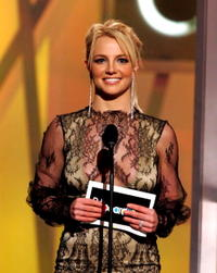 Britney Spears on stage during the 2004 Billboard Music Awards in Las Vegas.
