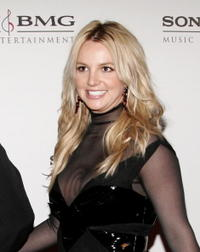 Britney Spears at the SONY BMG Grammy Party in Hollywood.