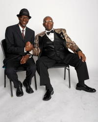 Keb' Mo' and B.B. King at the Thelonious Monk Institute of Jazz.