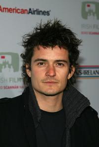Orlando Bloom at the 2nd Annual US-Ireland Alliance Awards.