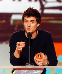 Orlando Bloom at the 20th Annual Kids' Choice Awards.