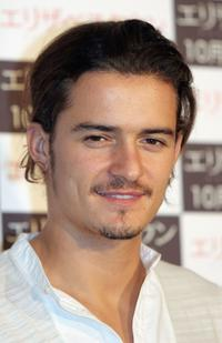 Orlando Bloom at the Tokyo press conference for