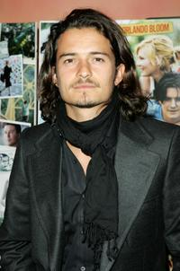Orlando Bloom at the 49th London Film Festival for