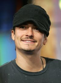 Orlando Bloom at the MTV's Total Request Live 2006.