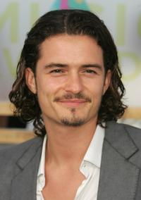 Orlando Bloom at the 2005 MTV Video Music Awards.