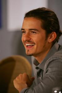 Orlando Bloom at the TIFF Press Conference for