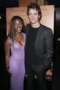 Hugh Dancy and Clare-Hope Ashitey at the premiere of