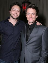 Hugh Dancy and Jonathan Sadowski at the after party for the premiere of