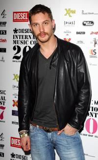 Tom Hardy at the Diesel U-Music Awards.