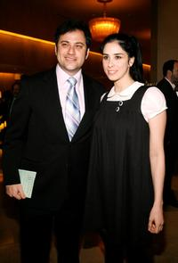 Jimmy Kimmel and Sarah Silverman at the 44th Annual ICG Publicists Awards Luncheon.