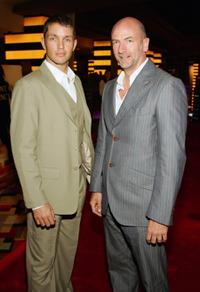 Matthew Marsden and Graham McTavish at the premiere of