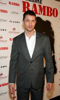 Matthew Marsden at the world premiere of
