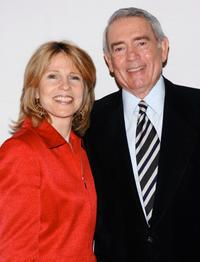 Donna Hanover and Dan Rather at the 7th Annual Women Who Care Luncheon.