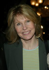 Donna Hanover at the screening of