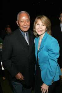 David Dinkins and Donna Hanover at