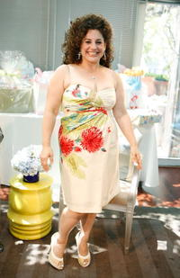 Marissa Jaret Winokur at the baby shower celebrating Marissa Jaret Winokur.