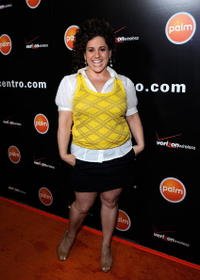 Marissa Jaret Winokur at the Verizon Palm Centro Launch Party.