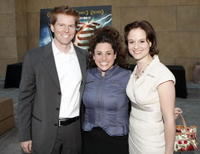 Alexander Buono, Marissa Jaret Winokur and Tamsin Rawady at the premiere of