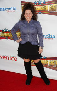 Marissa Jaret Winokur at the premiere of