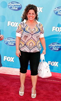 Marissa Jaret Winokur at the American Idol Season 7 Grand Finale.