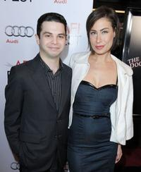 Samm Levine and Amber Melfi at the AFI FEST 2009 screening of