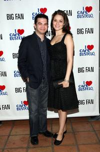 Samm Levine and Guest at the premiere of