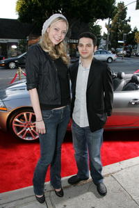 Niki Lindholme and Samm Levine at the opening night of the Malibu Film Festival.