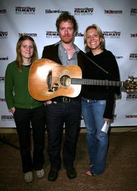 Marketa Irglova, Glen Hansard and Tamara Conniff at the Hollywood Reporter/Billboard Film and TV Music Conference.