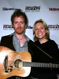 Glen Hansard and Tamara Conniff at the Hollywood Reporter/Billboard Film and TV Music Conference.