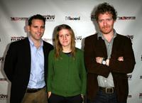 Kevin Cassidy, Marketa Irglova and Glen Hansard at the Hollywood Reporter/Billboard Film and TV Music Conference.