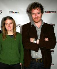 Marketa Irglova and Glen Hansard at the Hollywood Reporter/Billboard Film and TV Music Conference.