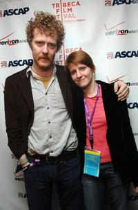 Glen Hansard and Marketa Irglova at the ASCAP Tribeca Music Lounge during the 2007 Tribeca Film Festival.