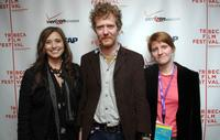 Loretta Munoz, Glen Hansard and Marketa Irglova at the ASCAP Tribeca Music Lounge during the 2007 Tribeca Film Festival.