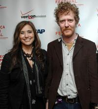Loretta Munoz and Glen Hansard at the ASCAP Tribeca Music Lounge during the 2007 Tribeca Film Festival.