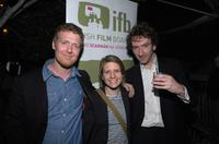 Glen Hansard, Marketa Irglova and Director John Carney at the Irish Film Board and Hollywood Reporter Pre-Oscar Event.