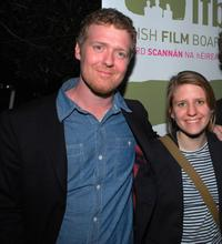 Glen Hansard and Marketa Irglova at the Irish Film Board and Hollywood Reporter Pre-Oscar Event.
