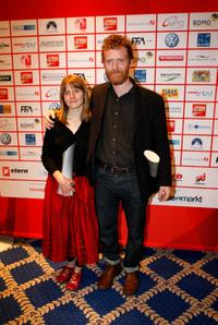 Marketa Irglova and Glen Hansard at the video night 2008.