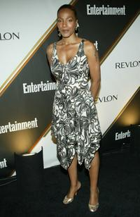 Nona Gaye at the Entertainment Weekly Emmy Pre-Party.