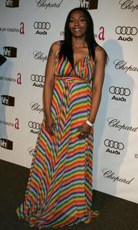 Nona Gaye at the 14th Annual Elton John Academy Awards viewing party.
