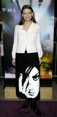 Vivien Cardone at the WB Network's 2003 Winter Party.